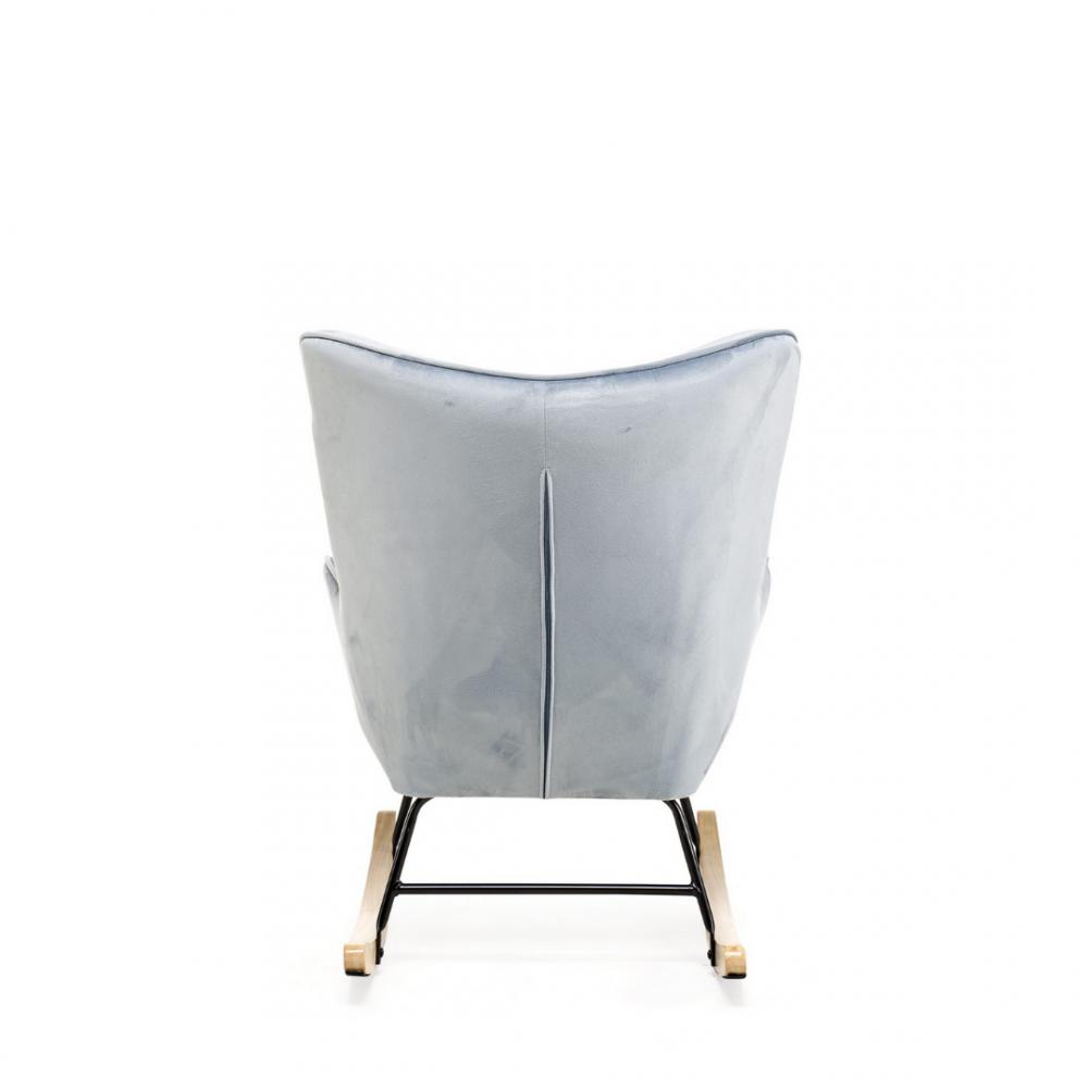 Aemely schommelstoel steerne baby blue velvet